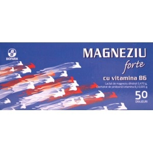 Magnesium forte with Vitamin B6 50 film coated tablets