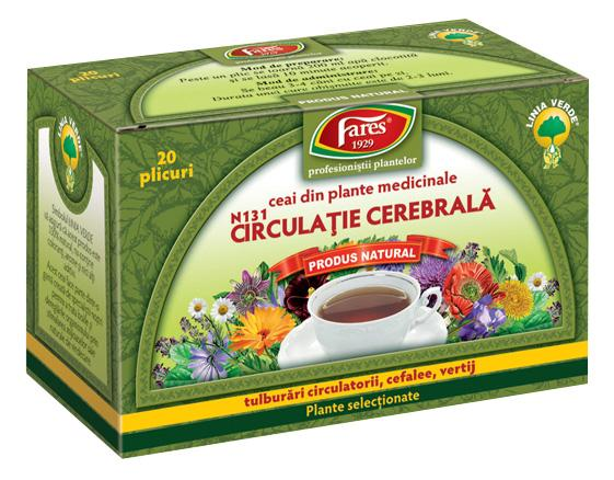 Cerebra  Circulation  Tea