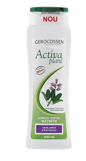 Activa Plant Anti Dandruff Shampoo with Sage and Arnica