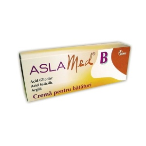 Aslamed B Cream for Corns