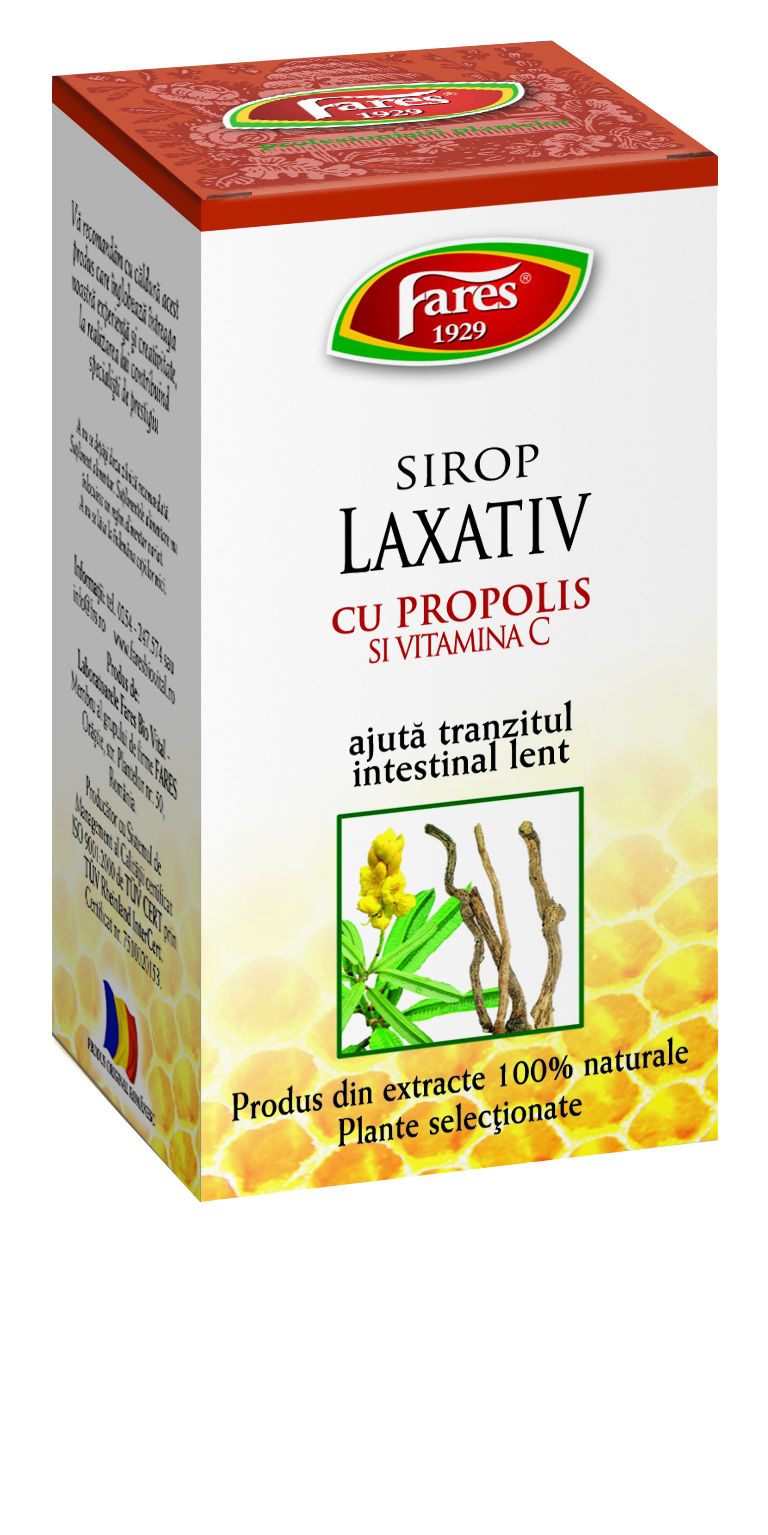 Laxative Syrup with Honey Propolis and Vitamin C 100ml