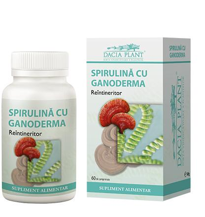 Spirulina and Ganoderma