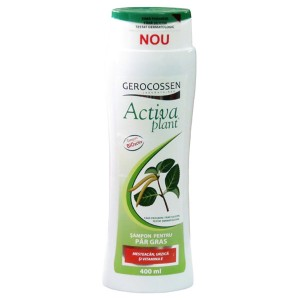 Activa Plant Shampo for Oily Hair with Birch and Nettle