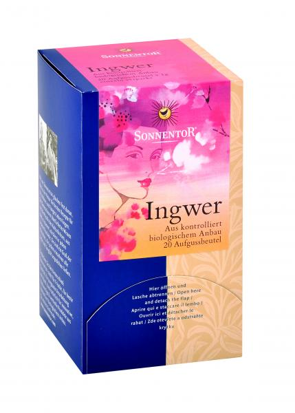 Bio Ginger Tea 20 teabags