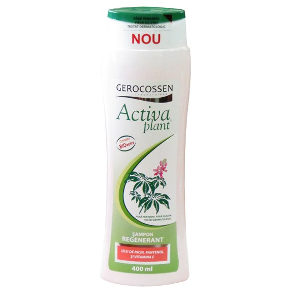 Activa Plant Shampoo for Normal Hair with Chamomile and Nettle