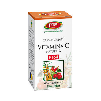 Natural Vitamin C 60 chewable tablets